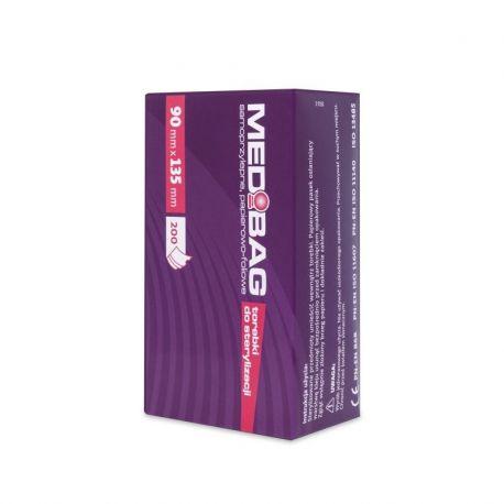 MEDI-LAB Torebki do sterylizacji 90mm x 135mm 200 sztuk