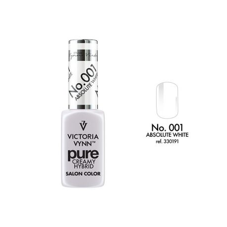 VICTORIA VYNN No. 001 ABSOLUTE WHITE PURE LAKIER HYBRYDOWY