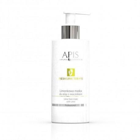 APIS Fresh Lime terApis żelowa maska limonkowa do stóp z kwasem glikolowym i mocznikiem 500ml