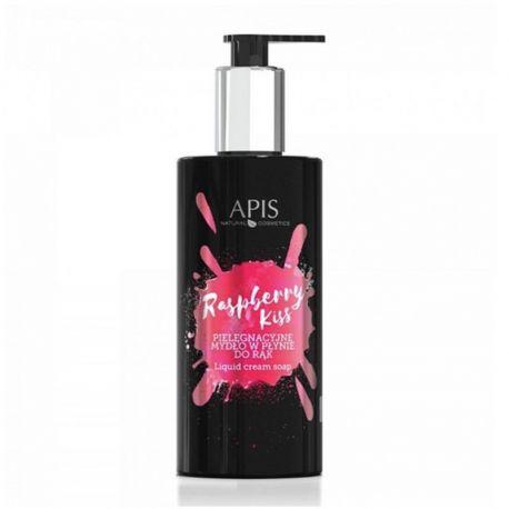 APIS Raspberry Kiss - Pielęgnacyjne mydło w płynie do rąk 300ml