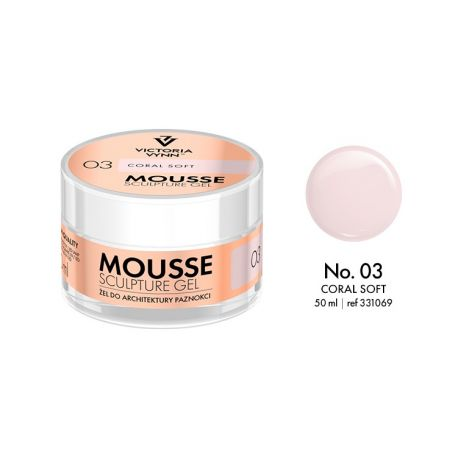 CRYSTAL GLASS MOUSSE SCULPTURE GEL
